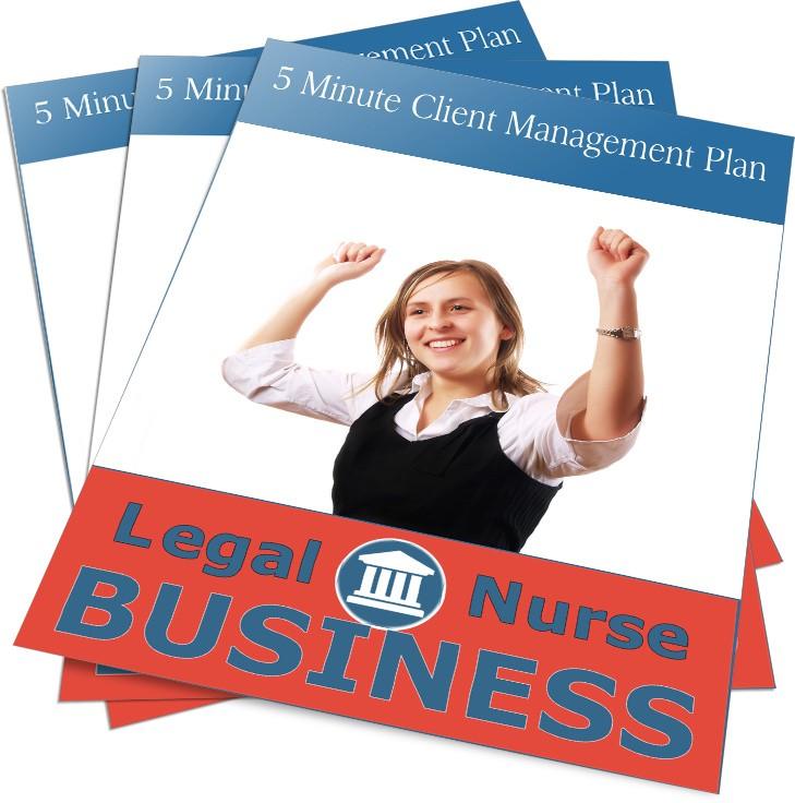 5 minute client management plan