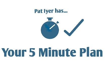 5 minute plan