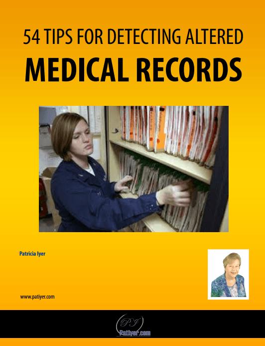 Fraudulent Medical Records Webinar