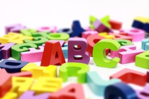ABCs of the alphabet