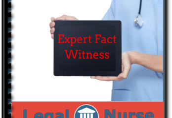 Thank you for  Registering for The Role of the Expert Fact Witness