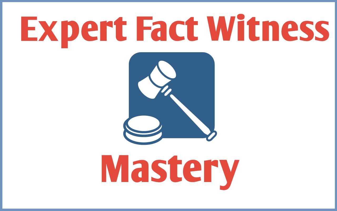 Expert Fact Witness Mastery Logo 3