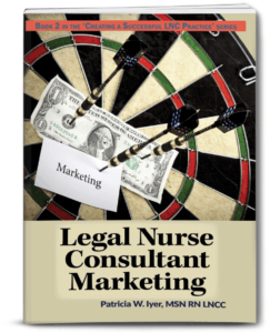 cover of Legal Nurse Consultant Marketing