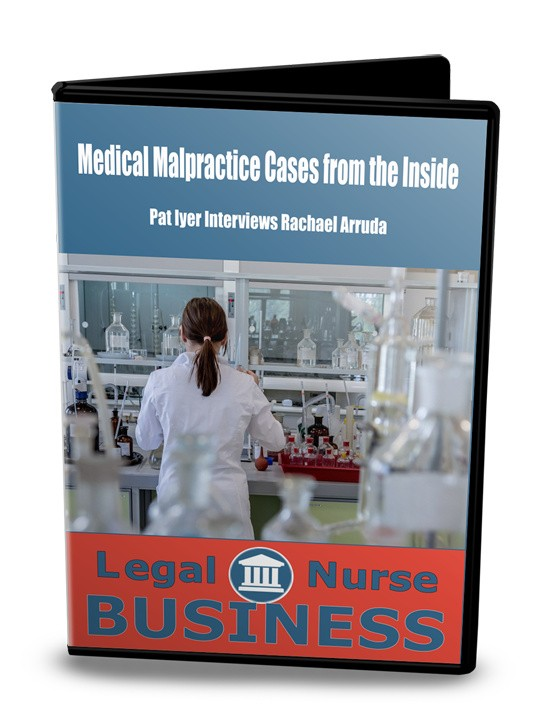 Medical Malpractice cases from the inside