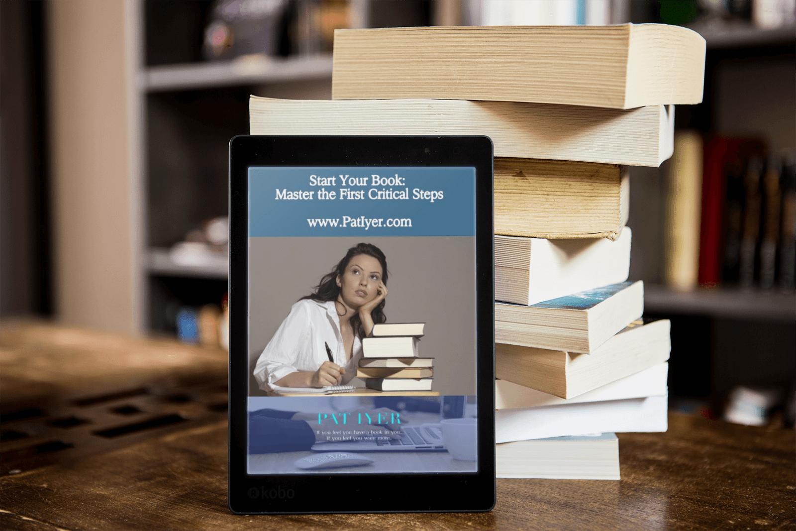 Start Your Book Webinar image