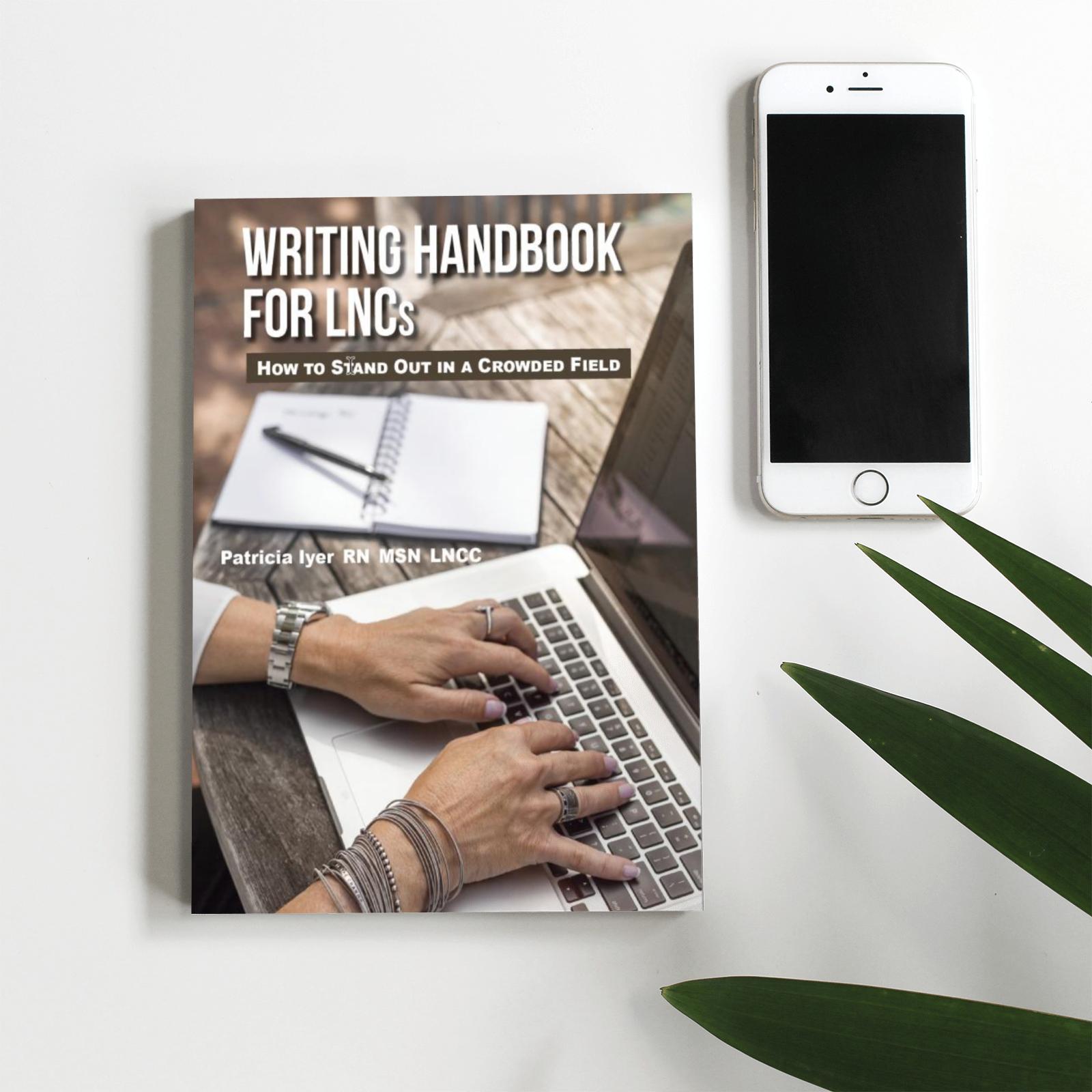 Writing handbook Mockup
