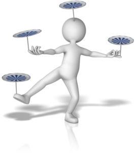 figure balancing plates
