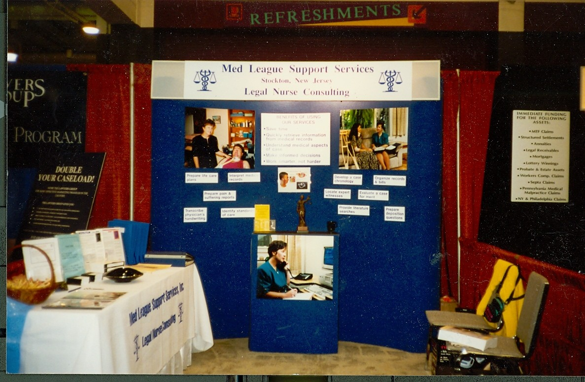 picture of an LNC booth