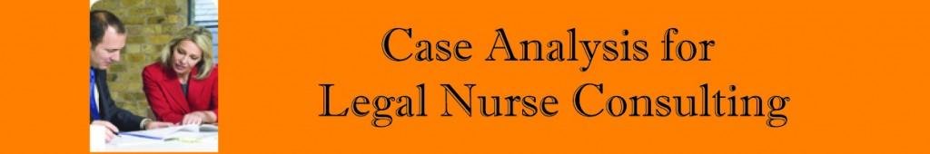 Legal case analysis