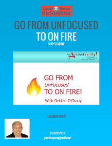 image of cover of supplement - Go from unfocused to on fire