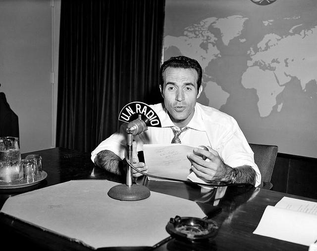 radio, radio announcer