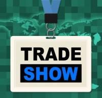 trade show badgesm